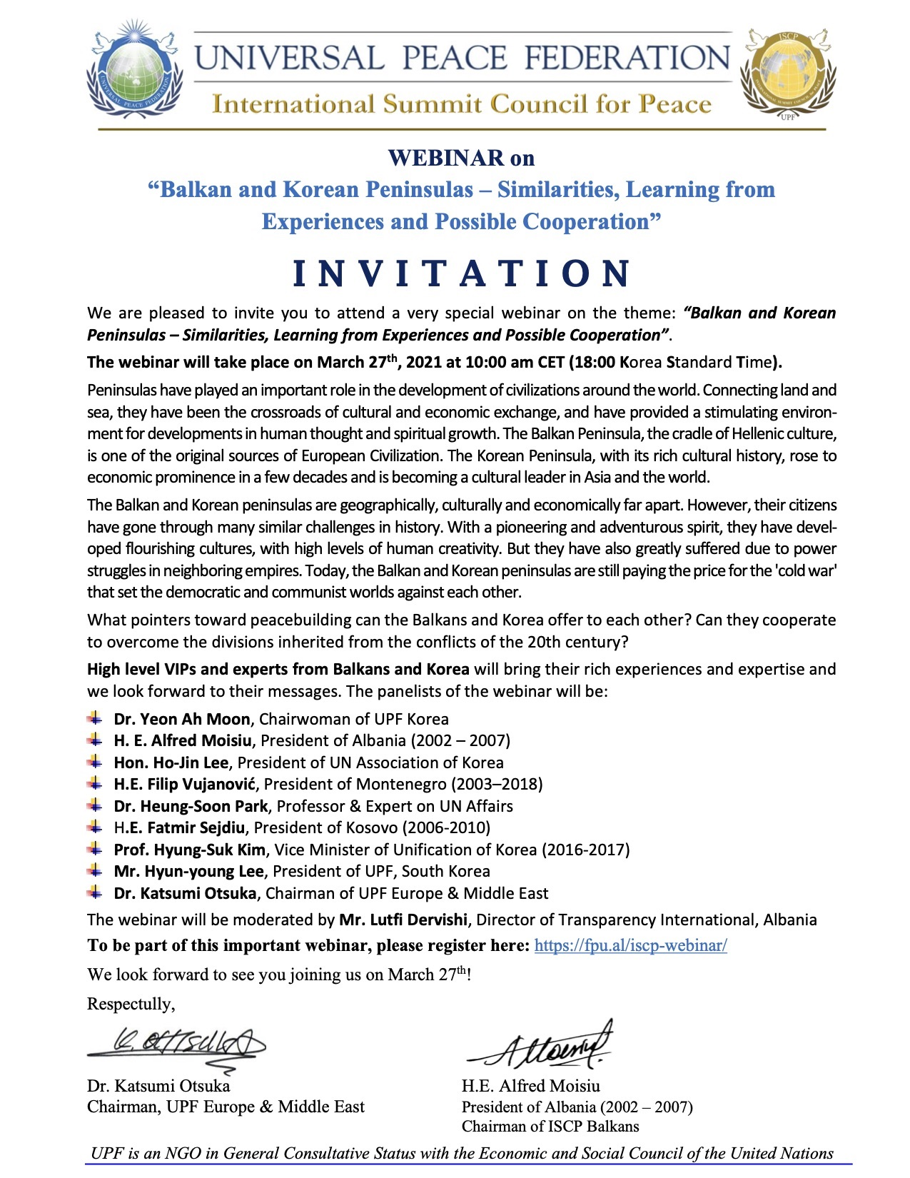 corected Mar 27 INVITATION ISCP Webinar on Korean and Balkan Peninsulas March 27th 2021 sm