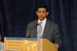 Mr. Dinesh D'Souza, from the Hoover Institution, Stanford University