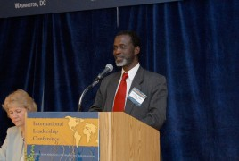 Dr. Sulayman Nyang, professor from the Howard University at Washington, DC