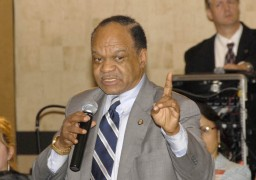 Former US Congressman for Washington DC, the Rev. Walter Fauntroy