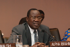 Mr. Almamy Babara Toure from the Permanent Mission of Guinea