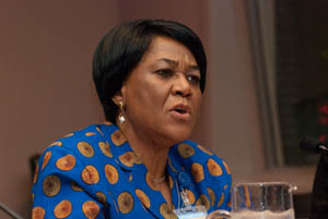 H.E. U. Joy Ogwu, the Permanent Representative of Nigeria