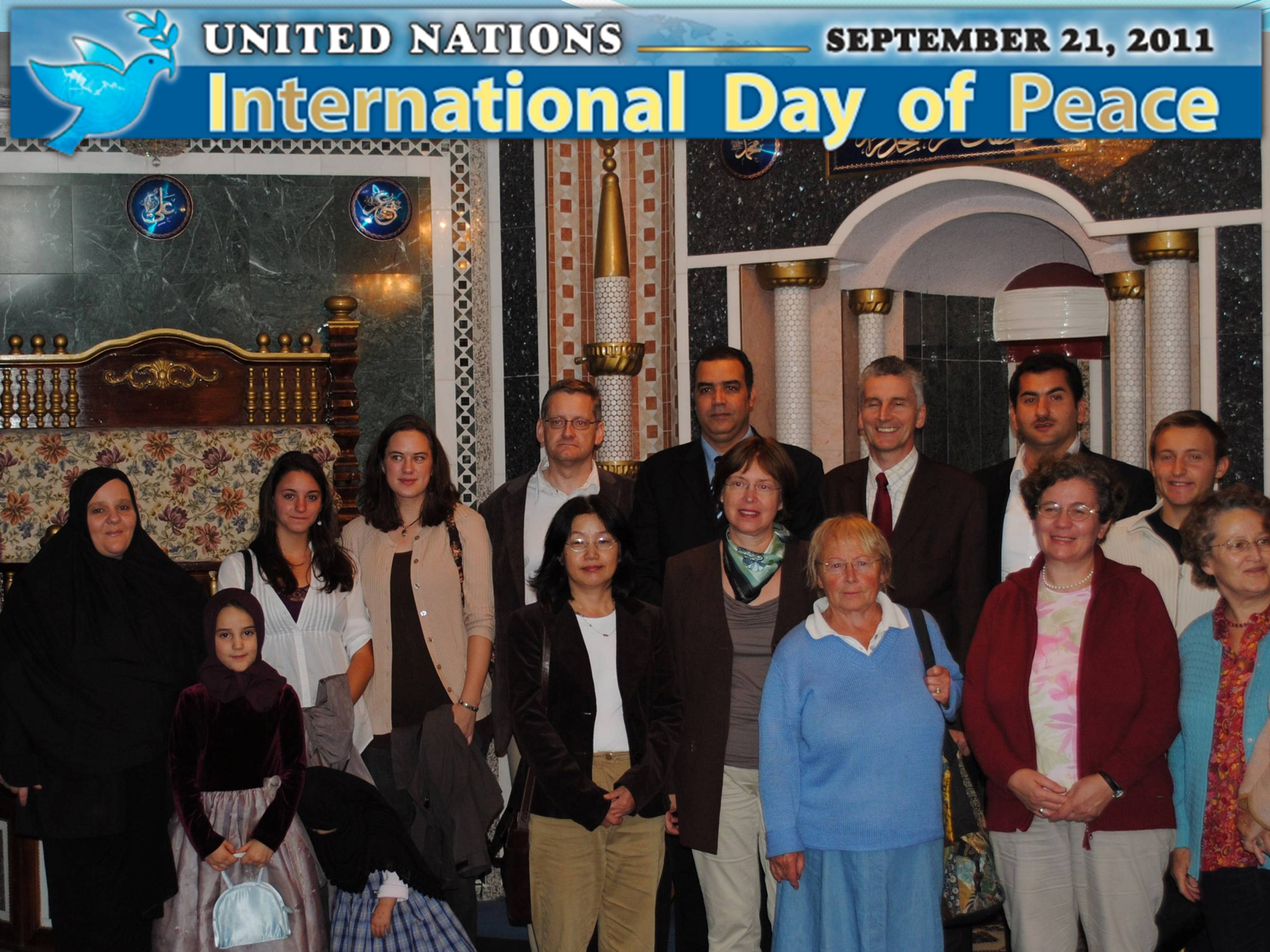 Day of Peace Observed in Bonn, Dusseldorf, Munich, and ...